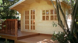 Wales Log Cabin <br/>from £1,900
