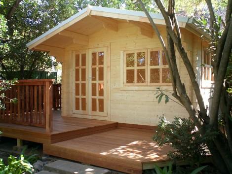 Wales Log Cabin