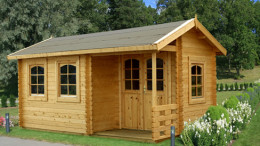 Girvan Log Cabin <br/>from £3,899