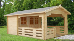 Oban Log Cabin <br/>from £3,499
