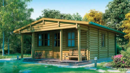 Baltic Log Home<br/> from £14,999