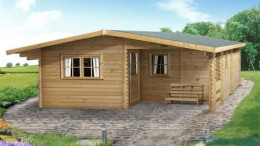 Fay Log Home<br/>from £7,499