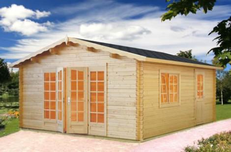 Troon Log Cabin