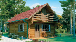 Lincoln Log Home <br/>from £18,999