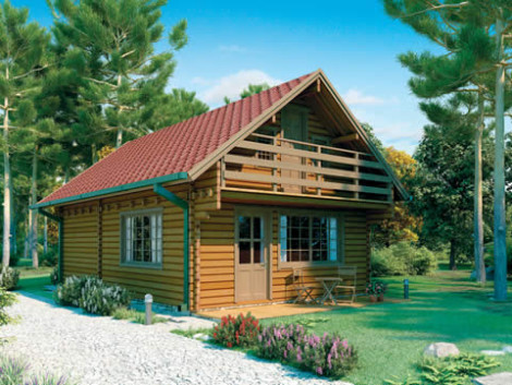 Lincoln Log Home