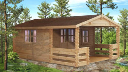 Manchester Log Cabin <br/>from £3,999
