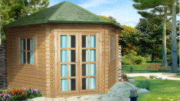 Norfolk Log Cabin <br/>from £2,099