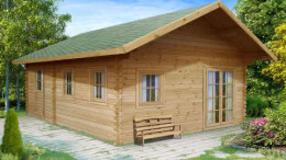 Nottingham Log Cabin <br/>from £6,299