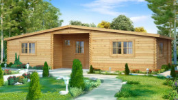 Winchester Log Home <br/>from £9,999
