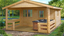 Roy Log Cabin <br/>from £3,449