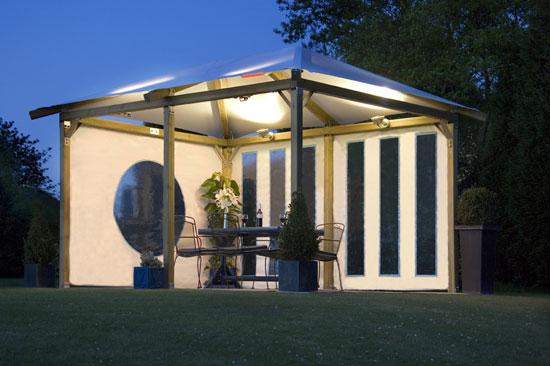 Pavilion Gazebo Range Ayrshire Log Cabins